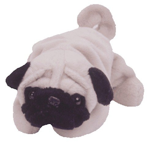 TY Beanie Babies - Pugsly the Pug Dog - GetPuggedUp PUG SHOP! ab1aab6f506